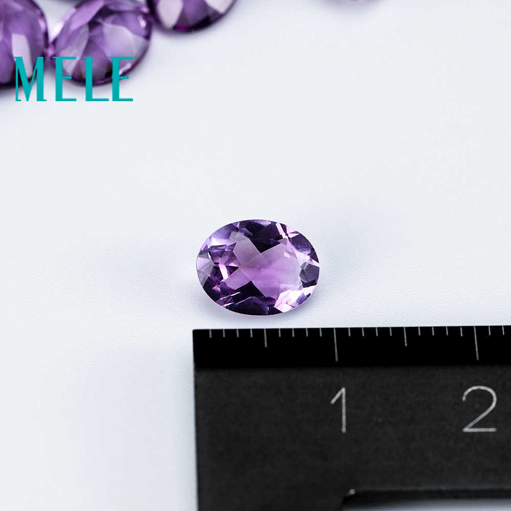Loose Gemstone For Making Jewellery Pendant 10x14mm Natural Rich Color Amethyst Cabochon Lot