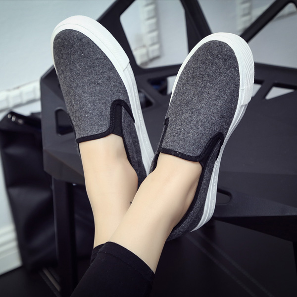 2018 summer new fashion shoes woman casual solid color canvas cotton simple platform women casual flats white shoes sneakers