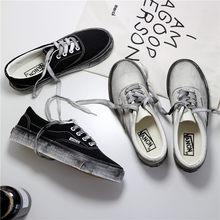 Corea del Sur ins lona clásicos blanco puro viejo zapatos retro baja ayuda  pareja modelos hombres y zapatos sucios 28a20035a133