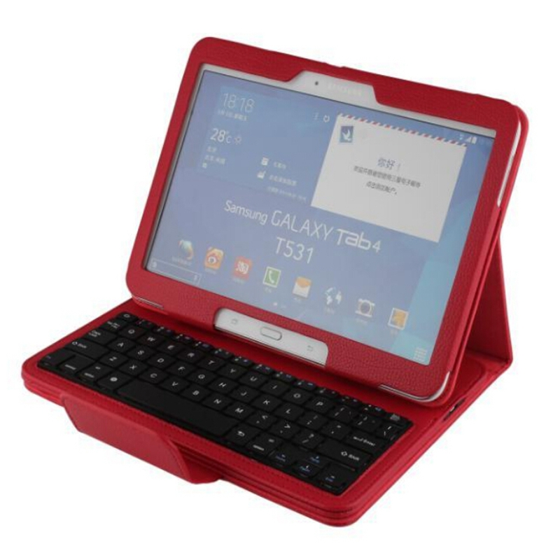 2 in 1 Removable Wireless Bluetooth Keyboard Case for Samsung Galaxy Tab 4 10.1 inch T530 T531 T535 Tablet