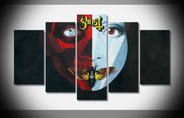 8267 HOT Free shipping Ghost bc meliora cirice poster Framed Gallery ...