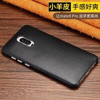 Heiße Neue mode 5 Farben marke für Huawei taube 9 pro 5,5 ''Echten Echtes Lammfell leder abdeckung Telefonkasten für Huawei mate9 pro