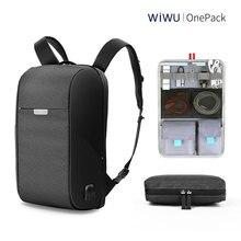 WIWU Laptop Backpack 15 6 15 4 inch Multi function USB Charging Causal font b Waterproof