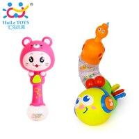 Kids Educatief Speelgoed Vingers Flexibele Training Wetenschap Knipperende Twisting Worm & Baby Shaker Zand Hamer Speelgoed Muziekinstrument