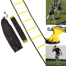 Speed Training Agility Ladder 4 Styles Nylon Straps Stairs for Soccer Football Speed Ladder Equipment Escalera De Entrenamiento недорого