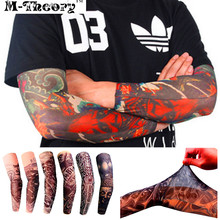 M-theory 3D Tattoos Sleeve Arm Leggings Stockings Elastic Temporary Body Makeup 3d Henna Tatuagem Tatto Flash Tatoos Arts