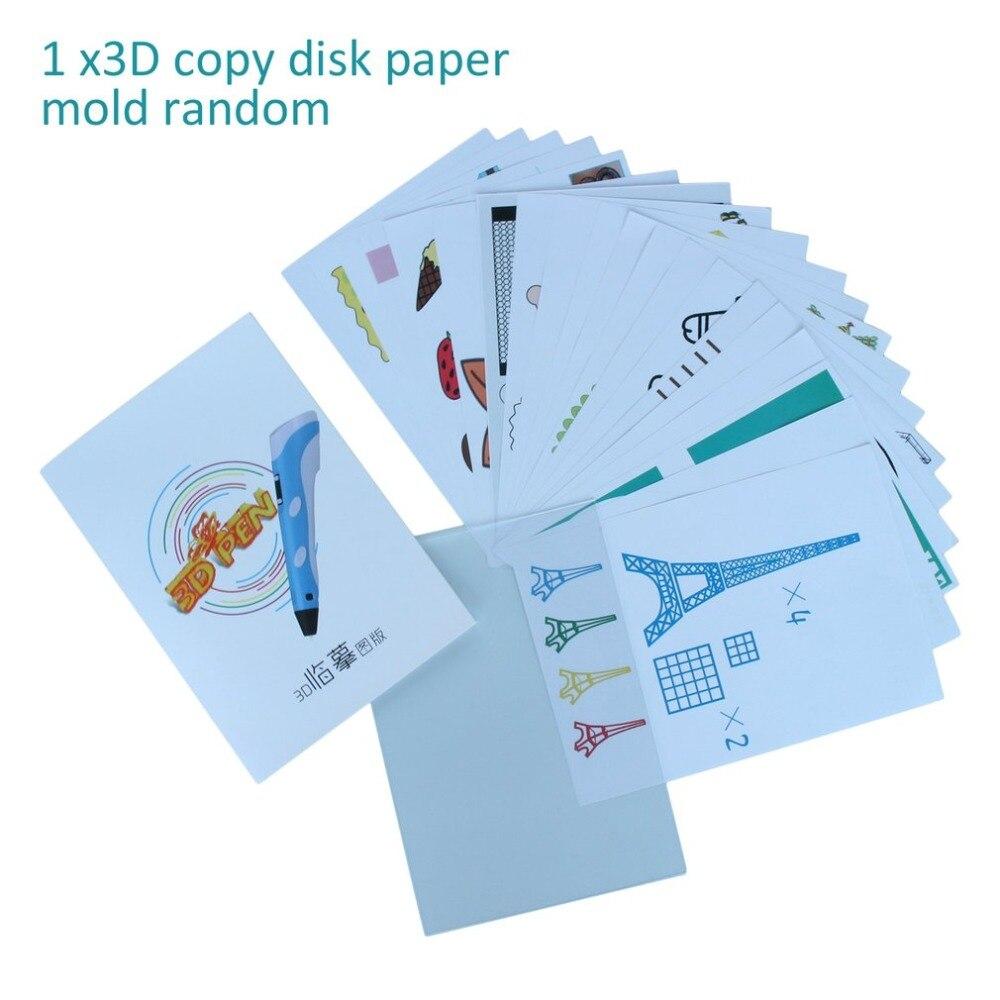 20 Pcs A4 Größe Kinder Zeichnung 3D Kopie Platte Papier Form für 3D Druck Stift Zeichnung Schablonen & Doodle XP beste Geschenk Für Kinder