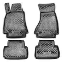Для Audi A8 2007-2015 коврики в салон 4 шт./компл. для автомобилей с автоматической передачи элемент NLC0409210