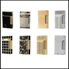 Kuboy Ping Sound Leichter Gas Aufblasbare Zigarette Feuerzeug für Zigaretten Nachfüllbare Schleifen Räder Feuer Leichter