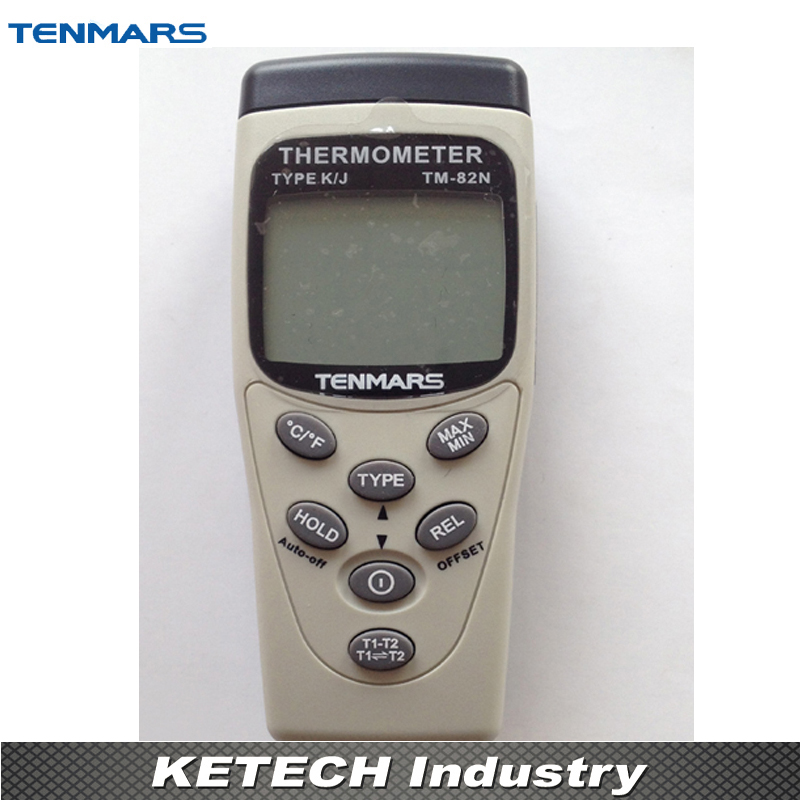 Handheld K/J Type Industrial Thermometer TENMARS TM82N крем для рук organic oblepikha planeta organica