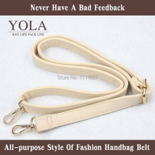 Free shipping PU leather belt male and female bag shoulder straps,2.0cm