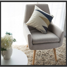 цена на Modern Nordic Lazy Sofa Leisure By The Back Restaurant Dining Chair Nordic Home Computer Bedroom Study Personality Lazy Chair