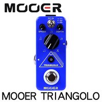 Mooer MTR3 Triangolo Digital Tremolo with Tap Tempo Micro Guitar Effects Pedal