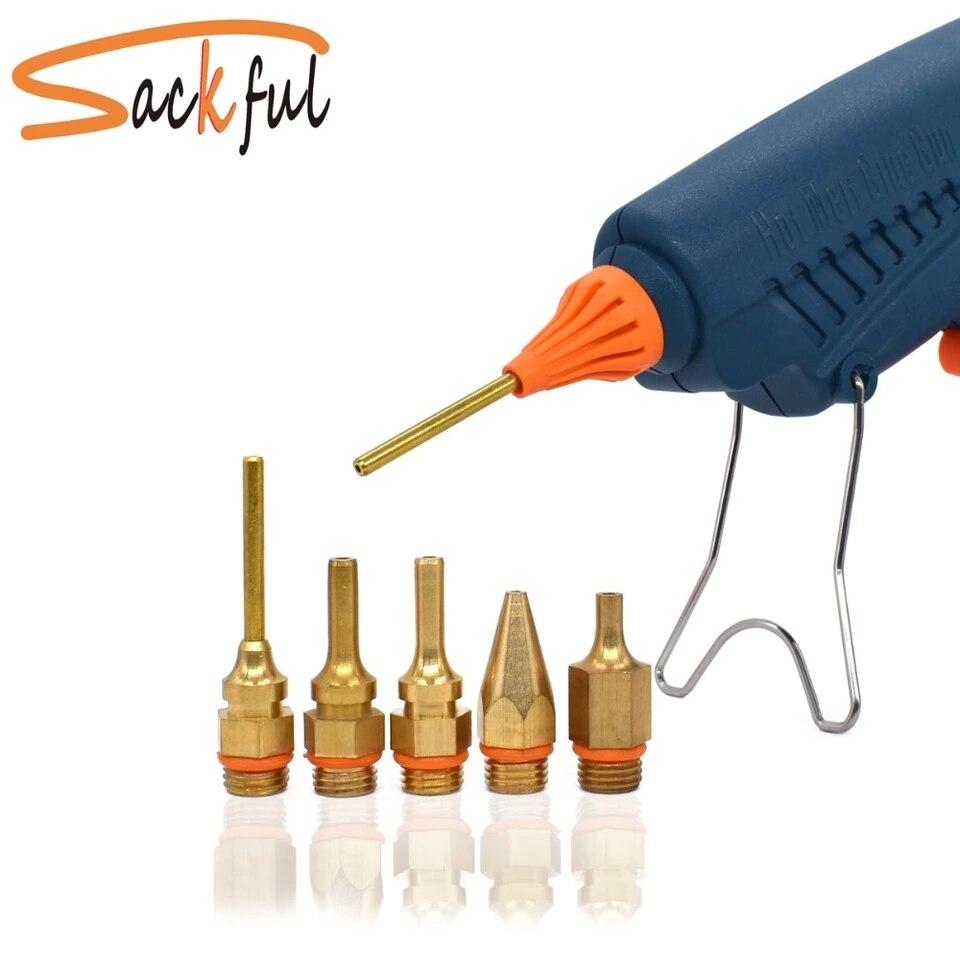 Hot Melt Glue Gun Nozzle Small-bore Large Diameter 1.0x36mm 1.5x32mm 1.2x32mm  3.0-2.0x50mm 32mm 36mm 40mm 50mm Long Nozzles