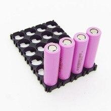 1 blatt 4*6 18650 Lithium Batterie Kombination Halter Schnalle Batterie Pack Halter Zylindrischen Li ionen zelle Leuchte Halterung BMS teil