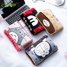Saim 220V Cartoon Hot Water Bottle Electric Charging Hand Warmer Winter Bag Cute Cat Hot-water WIth Cover A-110