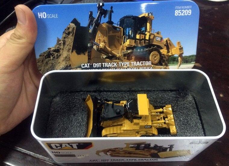 Nouvelle boîte-modèle DM-tracteur sur chenilles Cat D9T-modèle HO moulé sous pression #85209