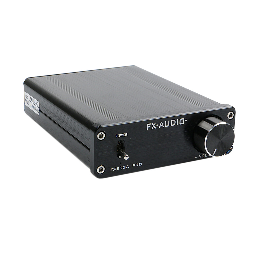 FX-Aodio FX502A A1 Preamp 160x2W TDA7498E TL082 NE5532 Pure Digital Audio High-power Mini Home Hifi Amplifier for 4-8ohm Speaker new feixiang fx audio fx1002a tda7498e tl082 audio high power digital power amplifier audio a1 preamp 160w 2 free shipping