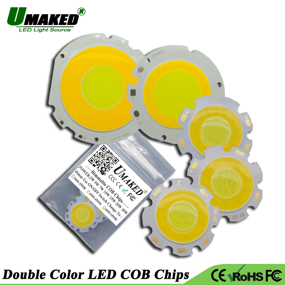 Lighting Accessories 2019 Latest Design 10pcs High Power Led Cob Light Beads 3w 5w 7w 9w 15w Lights Ball Integrated Smd Cob Diodes For Led Bulb Spotlight Ceiling Lamps Light Beads