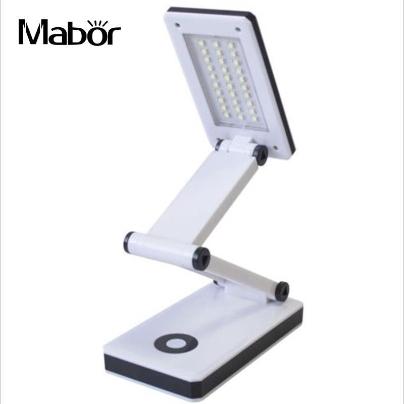 Lampen & Schirme Faltbare Touch Schreibtisch Lampe 3-ebene Dimmer Auge-pflege Led Licht Tragbare Lese Tisch Lampe Mit Digitalen Kalender Für Studie
