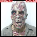 Free shipping Halloween Party Cosplay Horror Halloween Mask Latex Party Mask Parasite Zombie Mask Masquerade Scary Ghost Mask