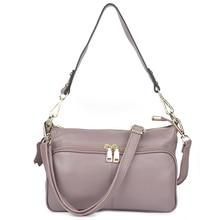 Guaranteed 100% Genuine Leather Traveling Women Totes 2018 Brand Designer Large Capacity Ladies Cross-body Bag Bolsas Femininas