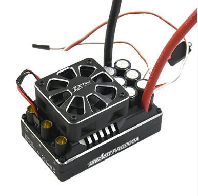 ZTW 1 5 Beast PRO SL 200A 6V 7 4V adjustable 8A BEC Brushless ESC waterproof