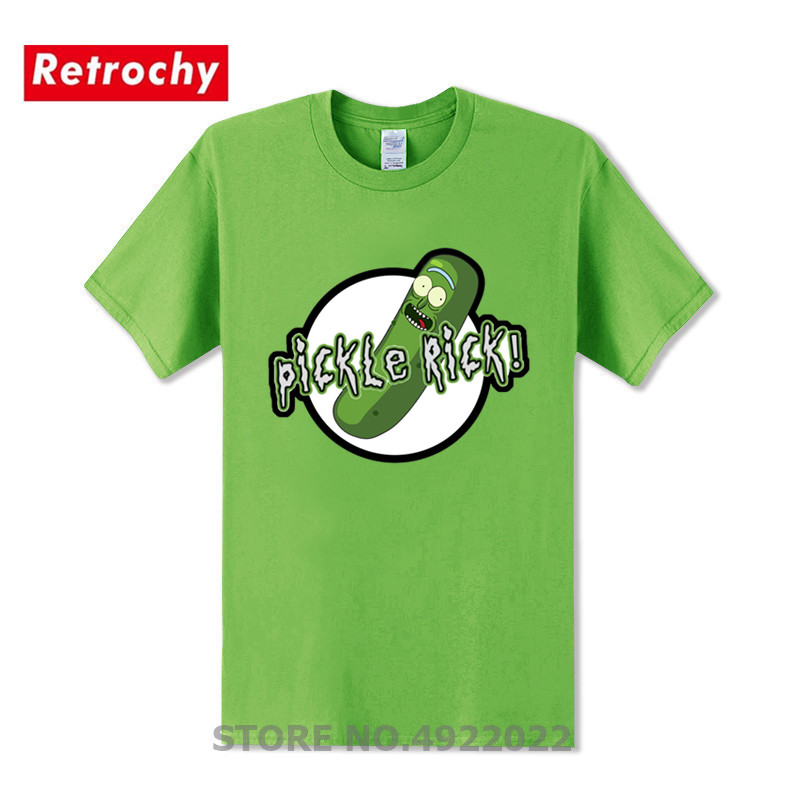 Lovely Rick And Morty T-shirt Creative Mens Jurassic Pickle Rick Design Park T Shirts Geek Bojack Horseman Short Sleeved Tshirt Supplement The Vital Energy And Nourish Yin Tops & Tees