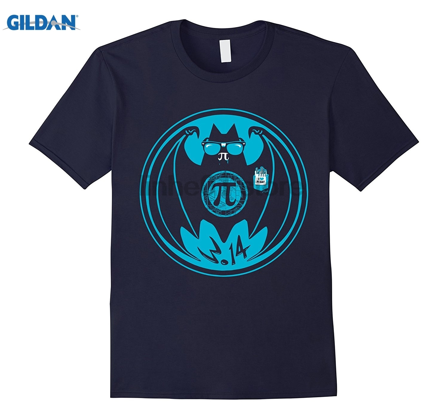 GILDAN Funny Vam Pi Symbol Bat T-shirt - Pi Day 2017 Shirts glasses Womens T-shirt Womens T-shirt