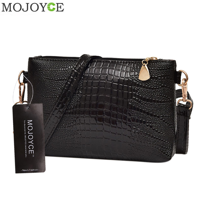 Luxury Brand Women Messenger Bag PU Leather Shoulder Bag Fashion Messenger Bags Women Mini Handbag Small Zipper Envelope Clutch