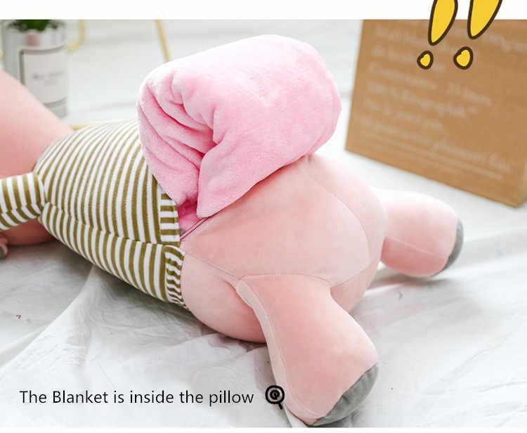 100x160 cm Manta de animales de dibujos animados Manta de franela con almohadones de almohadón manta