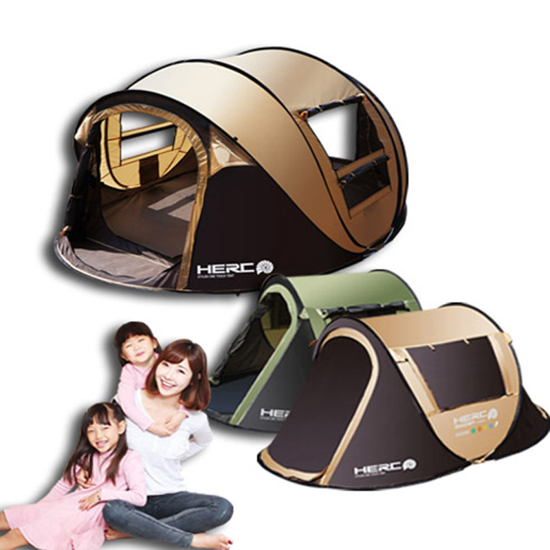 3 4 Person Pop Up Automatic Park Playing Camping Tent Children Playing House Beach Tent Barraca
