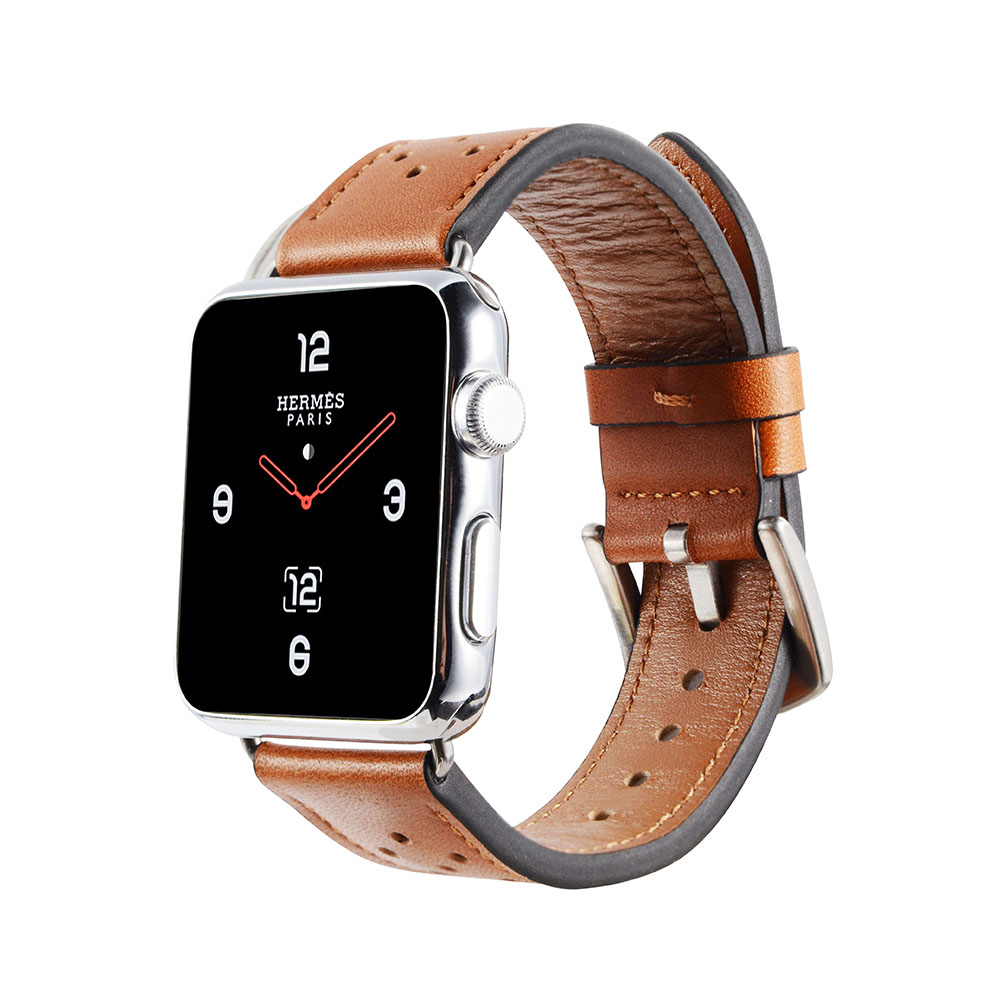 Retro luxury Leather Band For Apple watch 42mm 38 wriststrap With black adapter for iwatch Series 1 2 3 Watch Strap WatchbandRetro luxury Leather Band For Apple watch 42mm 38 wriststrap With black adapter for iwatch Series 1 2 3 Watch Strap Watchband