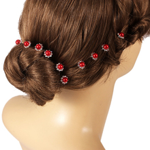 Crystal Rhinestones Hair Pins 6x