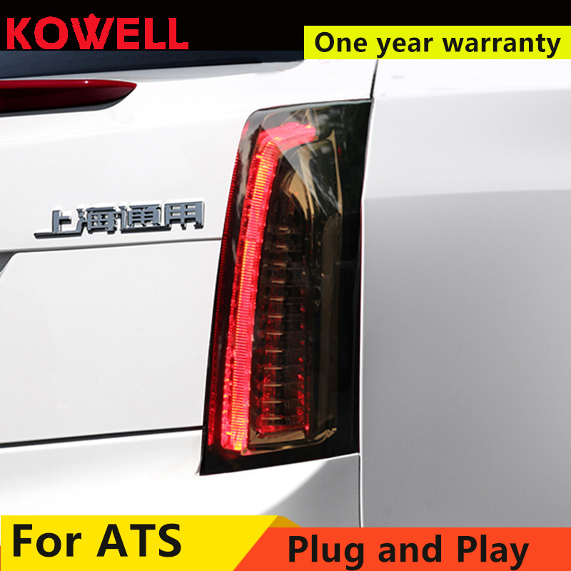 Car Styling for Cadillac ATS Taillights 2014 2017 for Cadillac ATS LED DRL dynamic Turn Signal