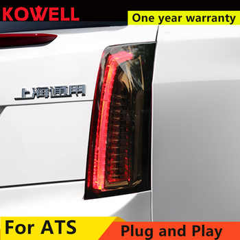 Car Styling for Cadillac ATS Taillights 2014-2017 for Cadillac ATS LED DRL+dynamic Turn Signal+Brake LED light - DISCOUNT ITEM  20 OFF Automobiles & Motorcycles