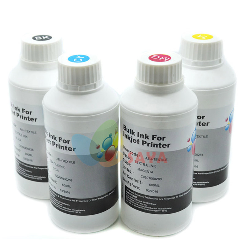 Textile Pigment Based Ink For Epson Printer For Epson Printer Head Textile printer Textile Tinte for epson l101 printer head 100