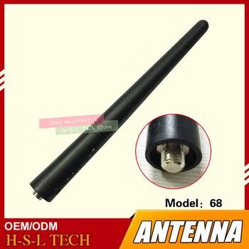 dvr gp300 Walkie Talkie Rubber Antenna 136-174Mhz VHF MOTO Interface For Motorola GP328 GP338 GP328PLUS GP338PLUS GP68 GP88 GP300 GP3688