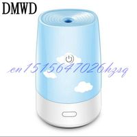 DMWD Mini HUmidifier USB Office Desktop Bedroom Household Silent Portable Humidifier 2W Small Power