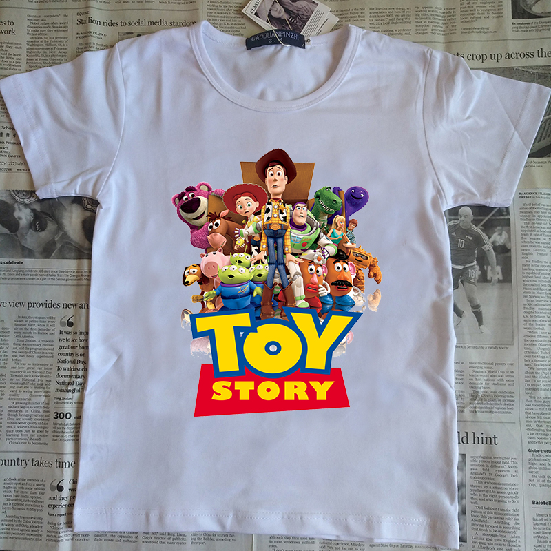 3-12 years child anime T Shirt 3D Woody Buzz Lightyear Toy Story T-Shirt Cartoon Printed Tee Shirts 3D t shirt for boys/ girls v neck 3d graphic printed t shirt