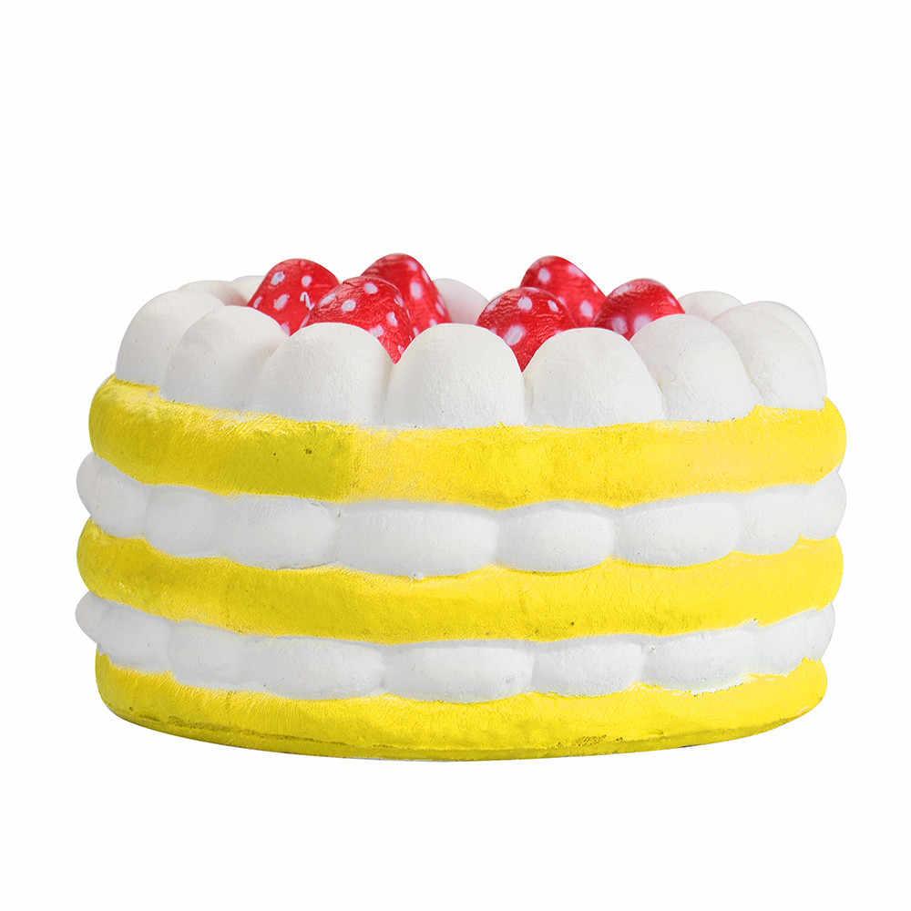 2019 снятие стресса клубничный торт Ароматические супер замедлить рост милые детские игрушки болотистый animales мягкими пакет F1