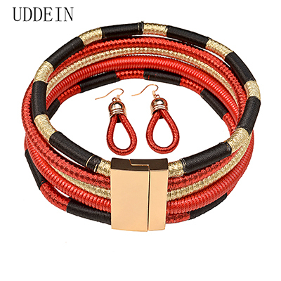 UDDEIN Multi Layer Chokers...
