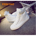 2017 Direct Selling New Fashion Women's Canvas Shoes Women Casual Girl Student Woman Flats White Black Colors Outdoor Driving
