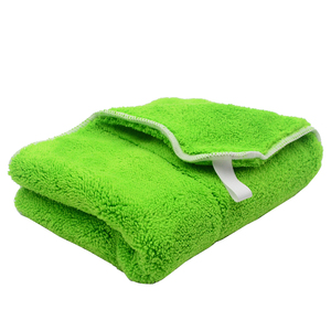 Image 3 - 5PCS 800GSM 40cmx30cm Super Thick Plush Microfiber Car Cleaning Cloth Car Care Wash Microfibre Wax Polishing Detailing Towel