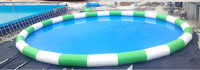 High quality new design large inflatable adult swimming pool swimming pool