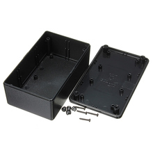 Best Price Waterproof  ABS Plastic Electronic Enclosure Project Box Black 103x64x40mm Electrical Connector