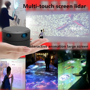 Image 3 - EAI YDLIDAR G4 lidar multi touch screen animation large screen interactive system solution large screen interactive system suite