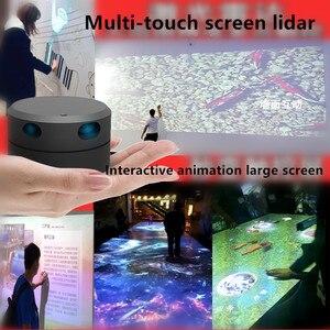 Image 3 - Eai ydlidar g4 lidar 멀티 터치 스크린 애니메이션 대형 스크린 대화 형 시스템 솔루션 대형 스크린 대화 형 시스템 스위트