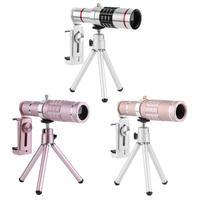 18x Zoom Optical Telescope Telephoto Lens 18 Degree Visual Angle with Tripod Metal Clip Kit Universal Phone Camera Lens Hot Sale