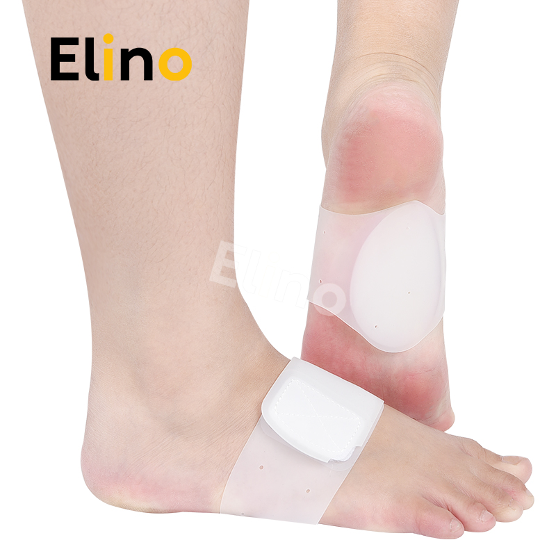 Elino Arch-support Silicone Flat feet pads Plantar Orthopedic Bandage for Men Women Elastic Adhesive Soft Feet Care ToolElino Arch-support Silicone Flat feet pads Plantar Orthopedic Bandage for Men Women Elastic Adhesive Soft Feet Care Tool